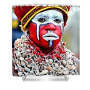 Indigenous Woman L B Shower Curtain