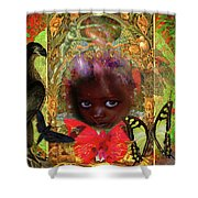 Indigo Children Shower Curtain