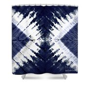 Indigo II Shower Curtain