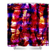 Indigo Madness Shower Curtain