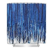 Indigo Soul Shower Curtain by Ralph White