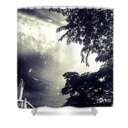 Indonesia Sky Line Shower Curtain