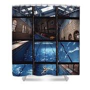 Indoor Pool Shower Curtain