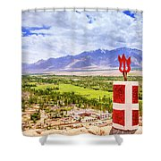 Indus Valley Shower Curtain