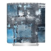 Industrial Abstract - 10t Shower Curtain