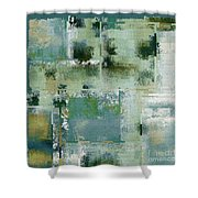Industrial Abstract - 17t Shower Curtain