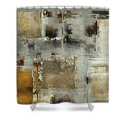 Industrial Abstract - 24t Shower Curtain