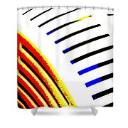 Industrial Art I Shower Curtain