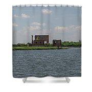 Industrial Banks Of The Charleston Harbor Shower Curtain