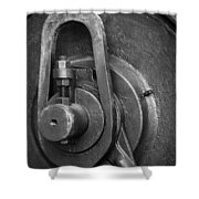 Industrial Detail Shower Curtain by Carlos Caetano