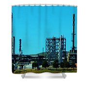 Industrial Firm Shower Curtain