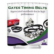 Industrial Gates Timing Belts In Uae Shower Curtain