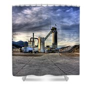 Industrial Landscape Study Number 1 Shower Curtain