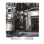 Industrial Manufacturing Shower Curtain
