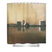 Industrial Park  Shower Curtain