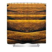 Industrial Prairie Shower Curtain
