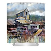 Industrial Recreation Park Shower Curtain
