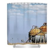 Industry Tank For Gas And Liquid Shower Curtain