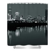 Indy Gray Shower Curtain