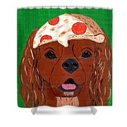 Indy - Pizza Shower Curtain