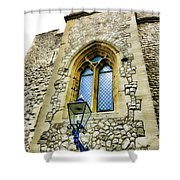 Infamous White Tower Of London Shower Curtain