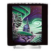 Church Of The Infant Jesus, Longlac, Ontario Shower Curtain