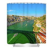 Infante Bridge Oporto Shower Curtain