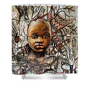 Infantile Expeditions Shower Curtain