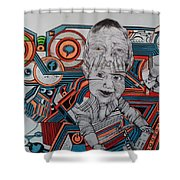 Infections Shower Curtain
