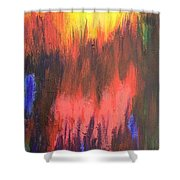 Inferno I Shower Curtain
