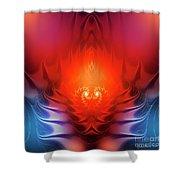 Inferno Shower Curtain