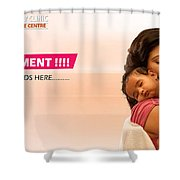 Infertility Treatment From Best Ivf Centre In India Shower Curtain