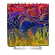 Infinite Complexity Six Shower Curtain