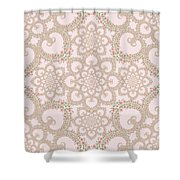 Infinite Lily In Pastels Shower Curtain