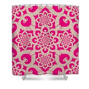 Infinite Lily In Pink Shower Curtain
