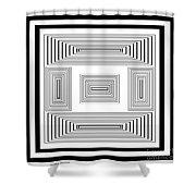 Infinite Maze 2 Shower Curtain