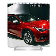 Infiniti Shower Curtain