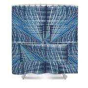 Infinity Highway Shower Curtain