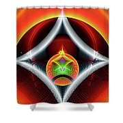 Infinity Loop Shower Curtain