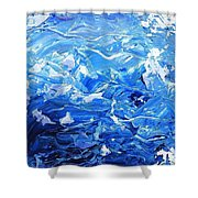 Infinity Map Shower Curtain