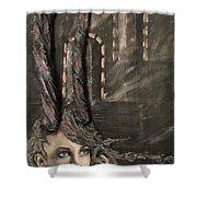 Infinity Queen Shower Curtain