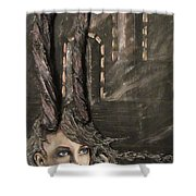 Infinity Queen Shower Curtain