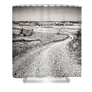 Infinity Road To Santiago Shower Curtain