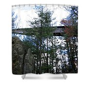 Infinity Room Shower Curtain