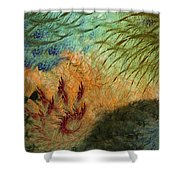 Inflammation Shower Curtain