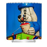 Inflated Temptation 2 Shower Curtain