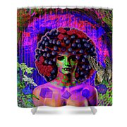 Influenza She Has Gone Viral Shower Curtain