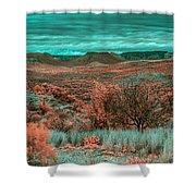 Infrared Arizona Shower Curtain