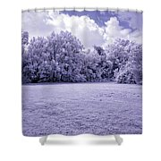 Infrared In Glasgow Ky Shower Curtain