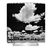 Infrared Indian River State College Hendry Campus #1 Shower Curtain